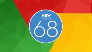 The new Chrome 68 arrived with a big change