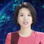 Robotic news-reporter from the Chinese Xinhua agency