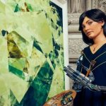 Ai-Da: The robot-painter does her first exhibition