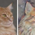 Art in a Sec makes your pet a painting portrait!