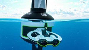 Draper drone, για να σώσουμε το νερό από τα μικροπλαστικά