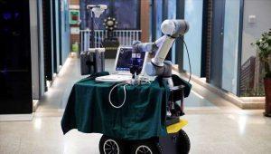 Κινεζικό ρομπότ-«γιατρός» στη μάχη κατά του κορωναϊού