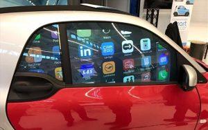 Παράθυρα αυτοκινήτων - «έξυπνες» oθόνες για διαφημίσεις και μηνύματα!