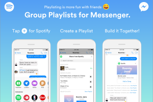 Create Spotify Playlists on Facebook Messenger!