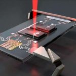 Tiny robots electronically controlled by laser