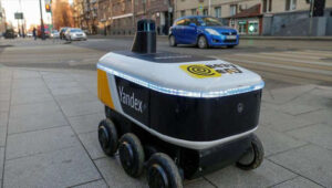 Russian robots will make food deliveries to American universities